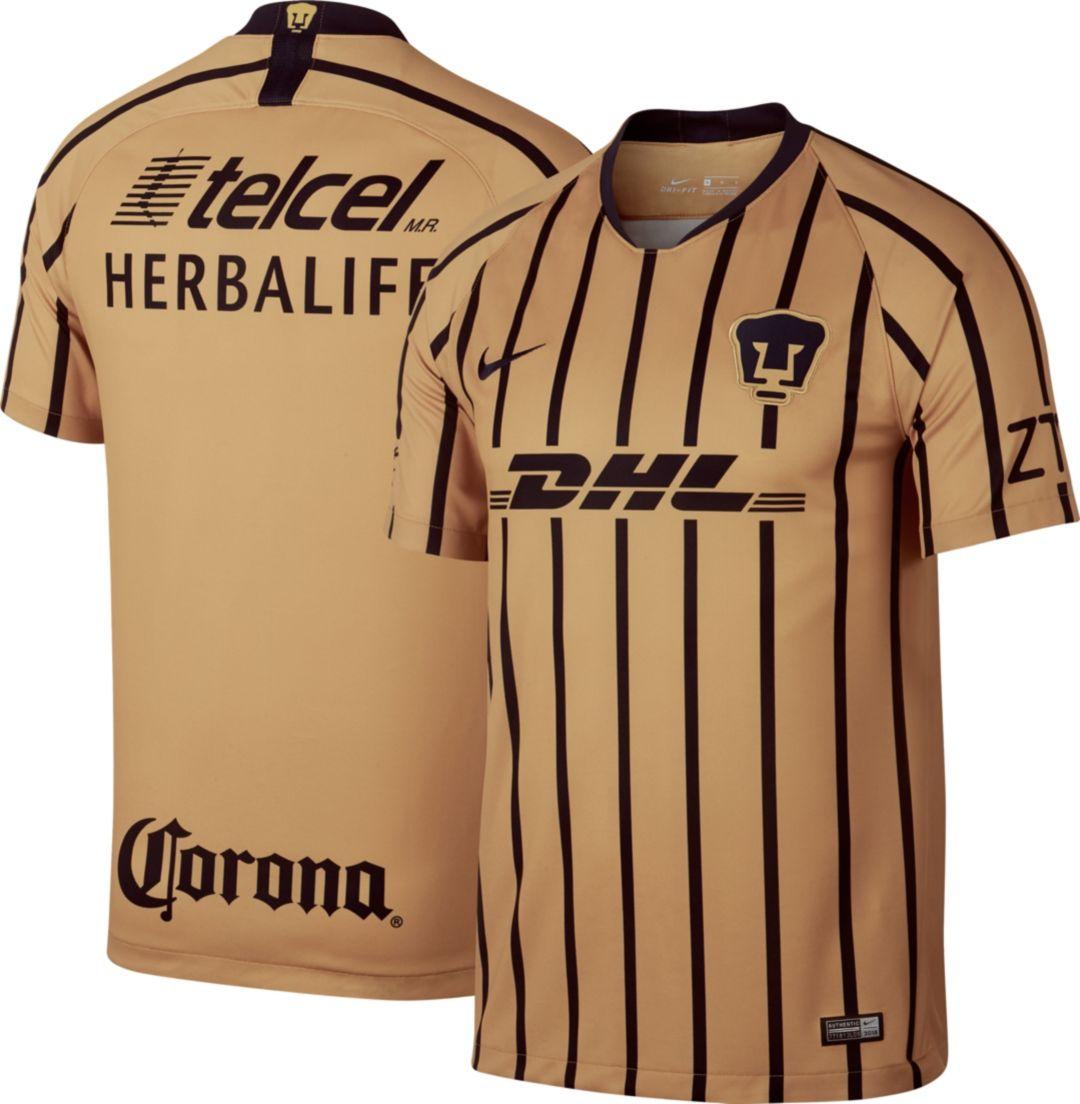innovative design f1baa 37c90 Nike Youth Pumas UNAM 2018 Breathe Stadium Away Replica Jersey