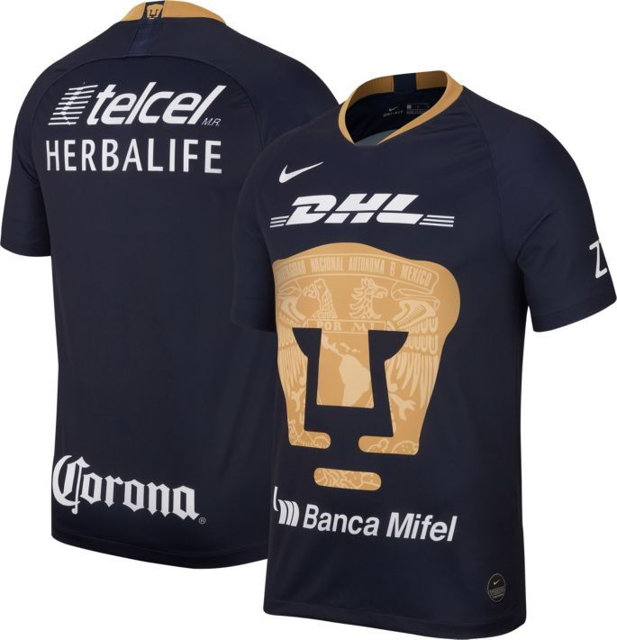 new style c87e7 6ccee Nike Youth Pumas UNAM 2019 Breathe Stadium Third Replica Jersey
