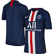 Nike Youth Paris Saint-Germain '19 Breathe Stadium Home Replica Jersey