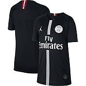 Jordan Youth Paris Saint-Germain 18/19 Breathe Stadium Black Third Replica Jeresy
