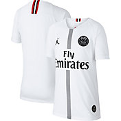 Jordan Youth Paris Saint-Germain 18/19 Breathe Stadium White Third Replica Jeresy