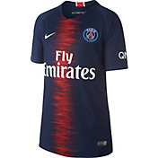 Nike Youth Paris Saint-Germain 2018 Breathe Stadium Home Replica Jersey
