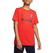 Nike Youth Paris Saint-Germain Core Red Match T-Shirt