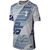 Nike Youth Tottenham Hotspur '19 Home Prematch Performance Shirt