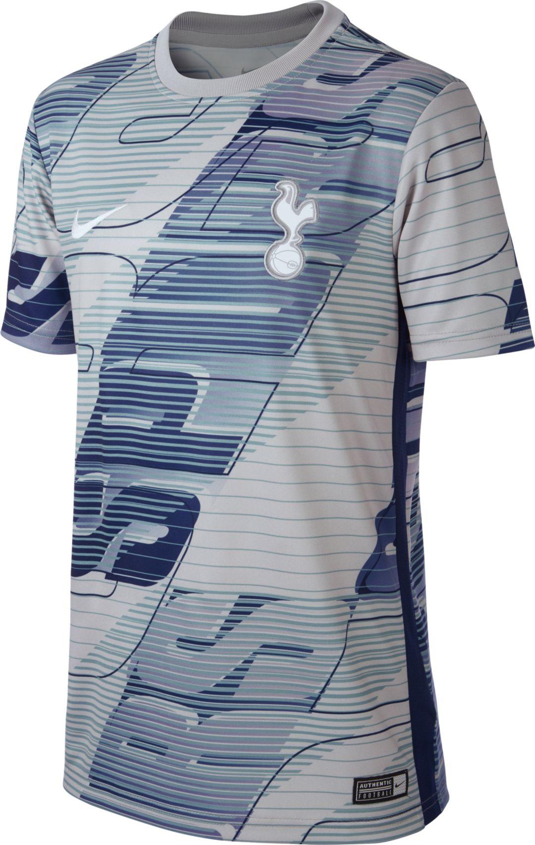 half off 37303 1770f Nike Youth Tottenham Hotspur '19 Home Prematch Performance Shirt