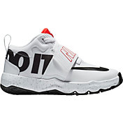 the best attitude d9cf9 abda5 Product Image · Nike Kids  Preschool Team Hustle D 8 JDI Basketball Shoes.  Crimson White Black