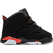 511115492d5 Product Image · Jordan Toddler Air Jordan Retro 6 Basketball Shoes. Black Bright  Crimson