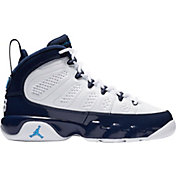 newest 5efe2 557e7 Product Image · Jordan Kids  Grade School Air Jordan 9 Retro Basketball  Shoes. White Blue
