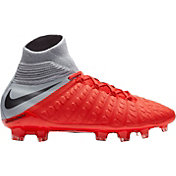 Nike Kids' Hypervenom Phantom III Elite Dynamic Fit FG Soccer Cleats