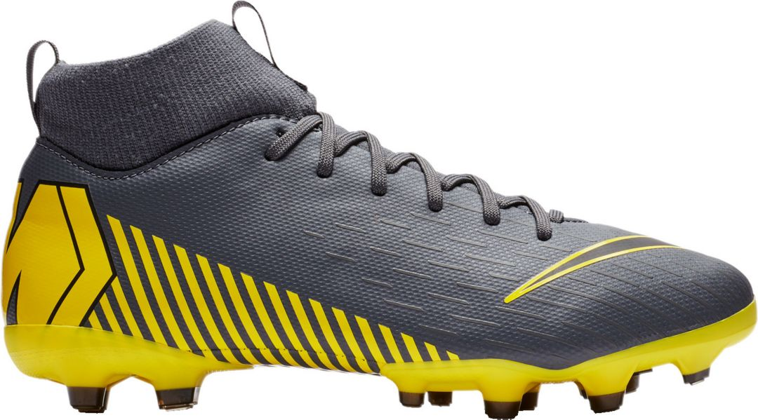 sports shoes 9a930 f446f Nike Kids' Mercurial Superfly 6 Academy FG Soccer Cleats