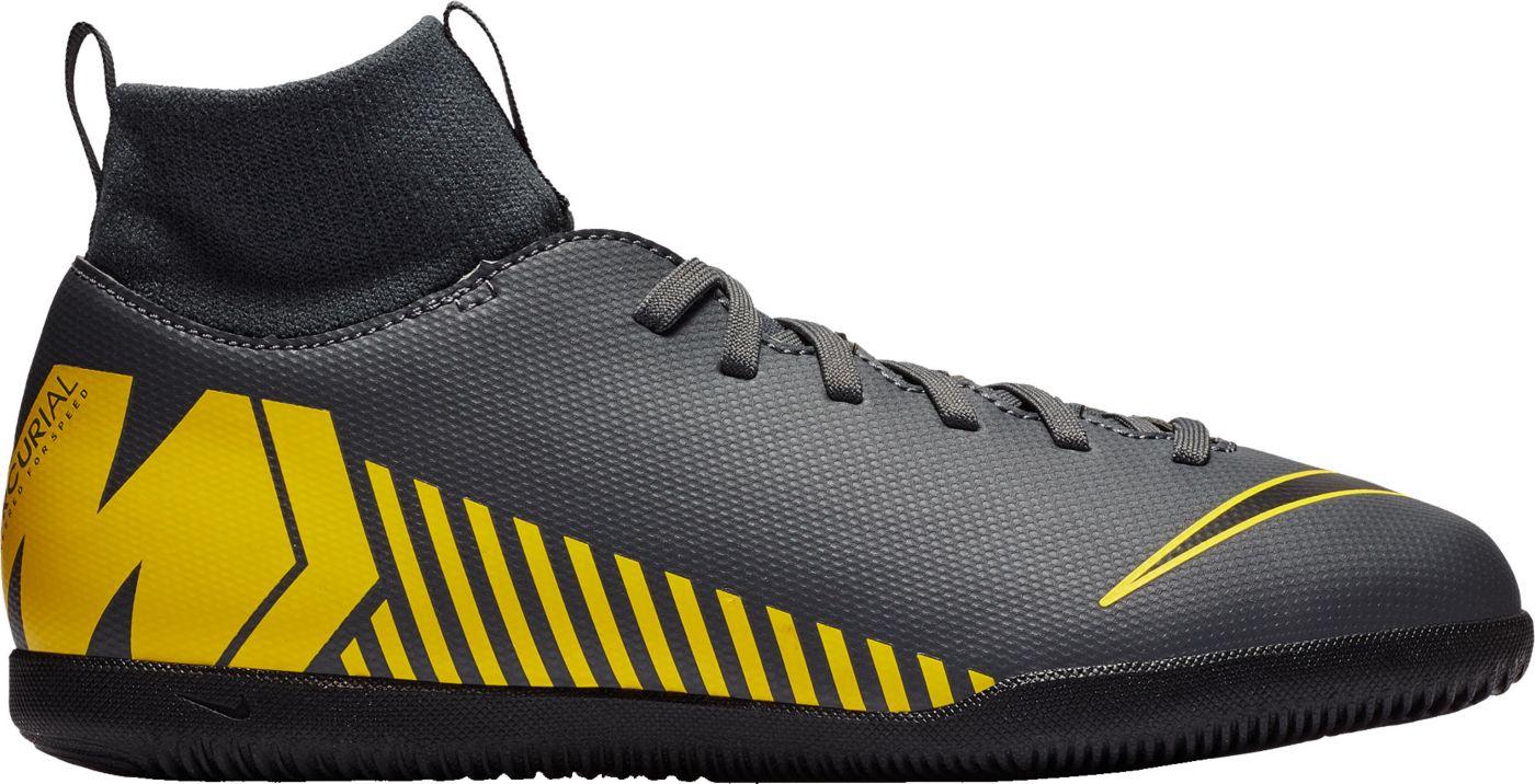 Nike Kids' Mercurial SuperflyX 6 Club Indoor Soccer Shoes