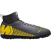 Nike Kids' MercurialX Superfly 6 Club Turf Soccer Cleats