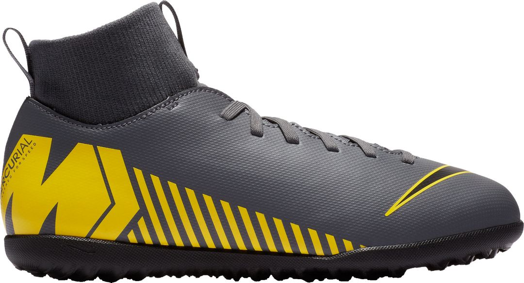 timeless design ee75a 17445 Nike Kids' MercurialX Superfly 6 Club Turf Soccer Cleats