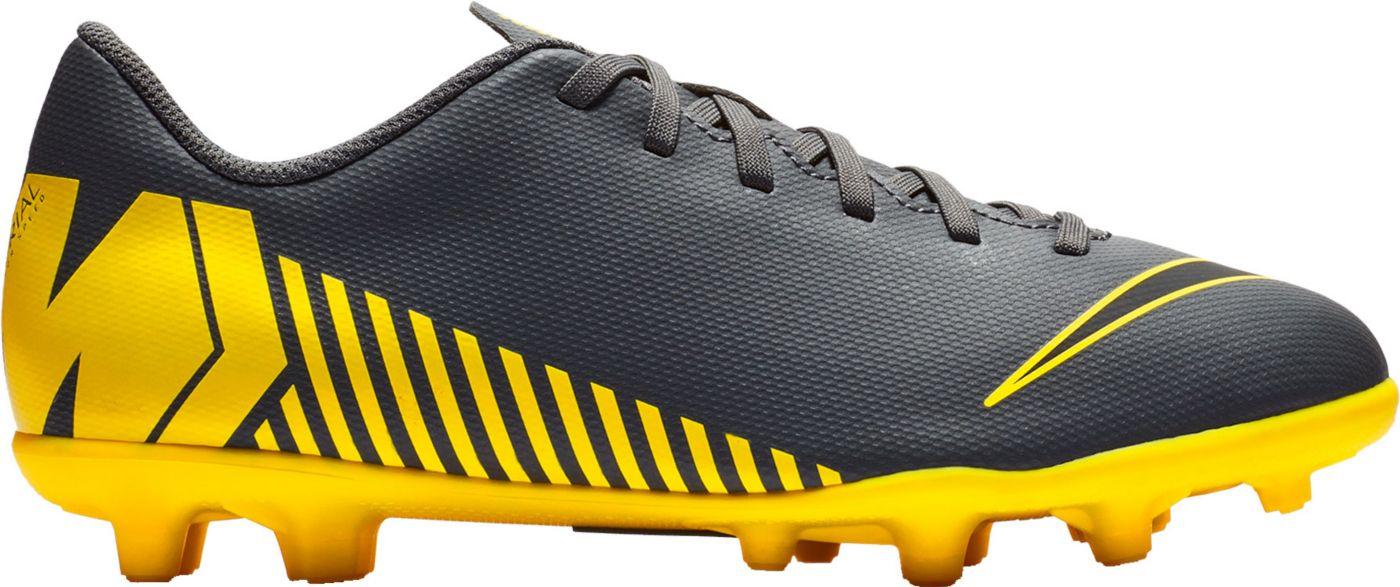 Nike Kids' Mercurial Vapor 12 Club FG Soccer Cleats