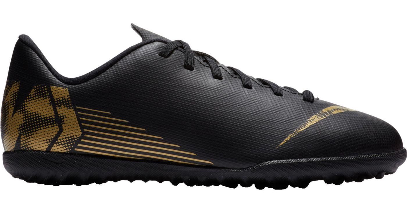 Nike Kids' MercurialX Vapor 12 Club Turf Soccer Cleats
