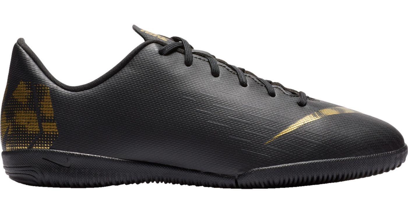 Nike Kids' MercurialX Vapor 12 Academy Indoor Soccer Shoes
