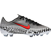 Nike Kids' Mercurial Neymar Vapor 12 Elite FG Soccer Cleats