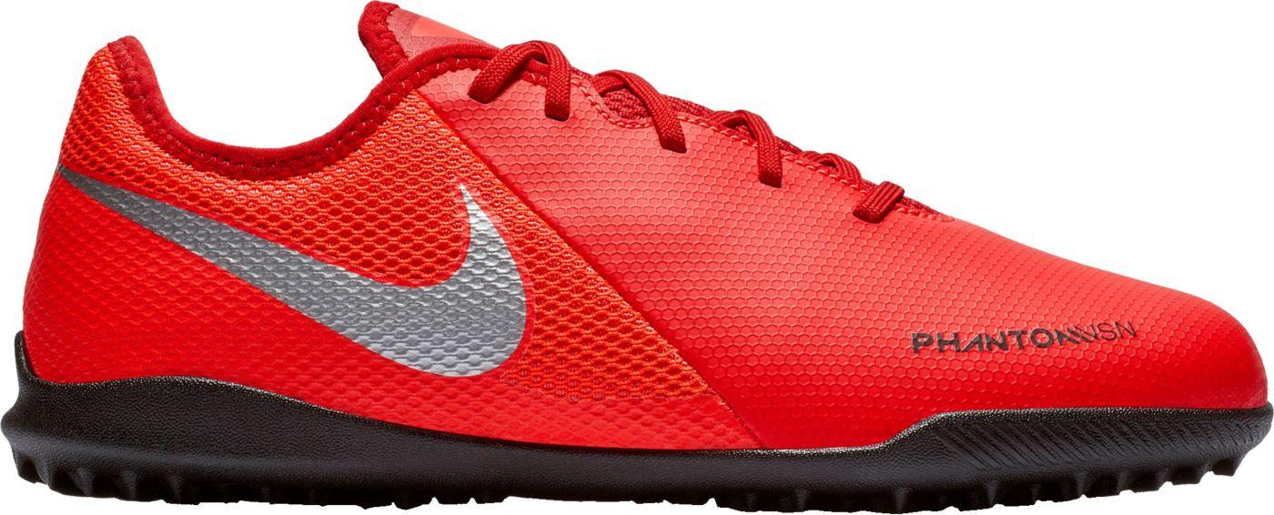 Nike Kids' Phantom Vision Academy Turf Soccer Cleats