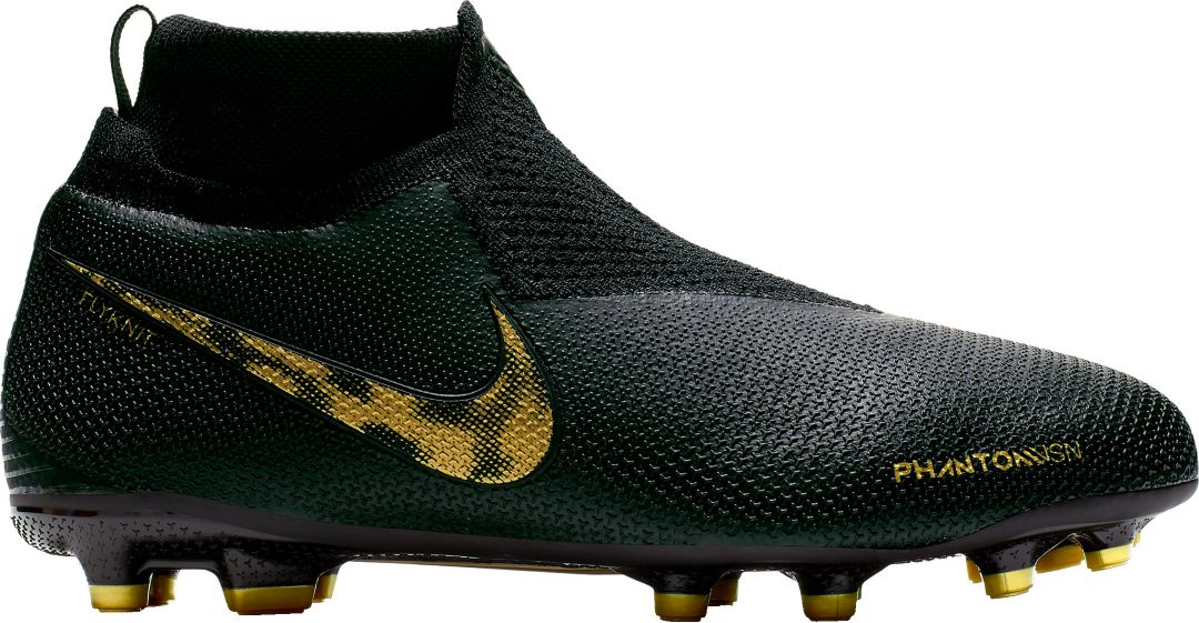 sports shoes 44eec 2a38a Nike Kids' Phantom Vision Elite Dynamic Fit FG Soccer Cleats