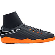 Nike Kids' Hypervenom PhantomX 3 Academy Dynamic Fit Indoor Soccer Shoes