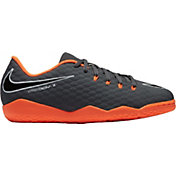 Nike Kids' Hypervenom PhantomX 3 Academy Indoor Soccer Shoes