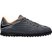 Nike Kids' HypervenomX Phantom 3 Club TF Soccer Cleats
