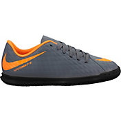 Nike Kids' HypervenomX Phantom 3 Club Indoor Soccer Shoes