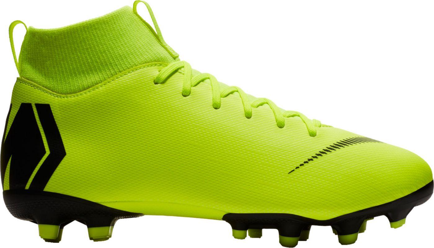 Nike Kids' Mercurial Superfly 6 Academy FG/MG Soccer Cleats