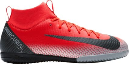 Nike Kids  MercurialX Superfly 6 Academy CR7 Indoor Soccer Shoes ... ad8819c35bc1