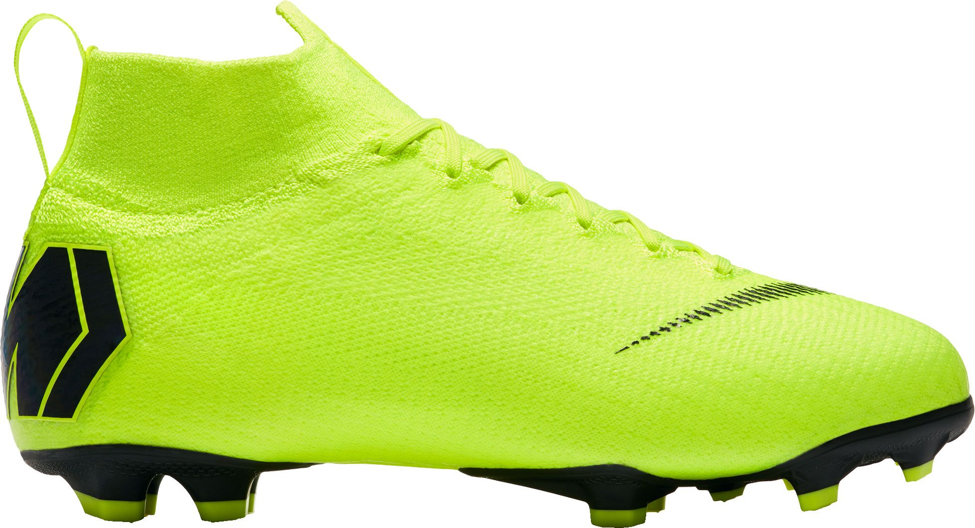Nike Kids' Mercurial Superfly 360 Elite FG Soccer Cleats, Boy's, Size: 5.0, Green