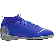 Nike Kids' MercurialX Superfly 6 Academy Indoor Soccer Shoes