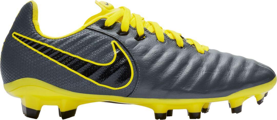 factory authentic 87e22 4667c Nike Kids' Tiempo Legend 7 Elite FG Soccer Cleats
