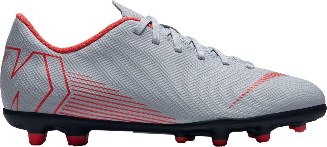 uk availability 31e1b 7167f Nike Kids  Mercurial Vapor 12 Club FG MG Soccer Cleats 1