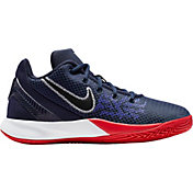 size 40 18f1e 5e403 Product Image · Nike Kids  Grade School Kyrie Flytrap II Basketball Shoes ·  Black University Red · Black White ...