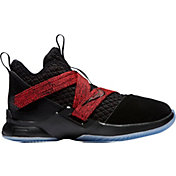 50802f2682a5 Product Image · Nike Kids  Preschool LeBron Soldier XII Basketball Shoes in  Black Red
