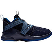 premium selection 7131f e95ee Product Image · Nike Kids  Preschool LeBron Soldier XII Basketball Shoes.  Black Blue