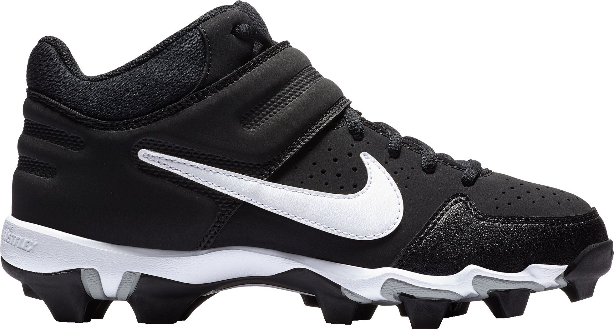 a80da24fc186 Nike Kids  Alpha Huarache Varsity Keystone Mid Baseball Cleats ...