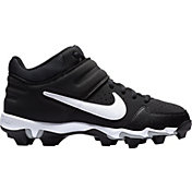 187adb0bd8d73 Product Image · Nike Kids  Alpha Huarache Varsity Keystone Mid Baseball  Cleats. Black White  Grey  ...