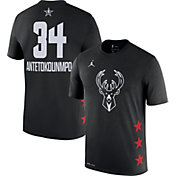 Jordan Youth 2019 NBA All-Star Game Giannis Antetokounmpo Dri-FIT Black T-Shirt