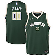 Nike Youth Full Roster Milwaukee Bucks Green Dri-FIT Swingman Jersey