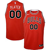 Nike Youth Full Roster Chicago Bulls Red Dri-FIT Swingman Jersey