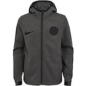 Nike Youth Los Angeles Clippers On-Court Dri-FIT Showtime Full-Zip Hoodie