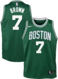 d896196e26a7 Nike Youth Boston Celtics Jaylen Brown  7 Kelly Green Dri-FIT Swingman  Jersey