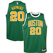 Nike Youth Boston Celtics Gordon Hayward Dri-FIT Earned Edition Swingman Jersey