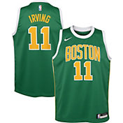 Nike Youth Boston Celtics Kyrie Irving Dri-FIT Earned Edition Swingman Jersey