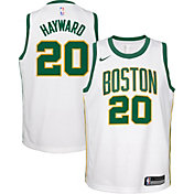 Nike Youth Boston Celtics Gordon Hayward Dri-FIT City Edition Swingman Jersey