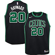 Nike Youth Boston Celtics Gordon Hayward #20 Black Dri-FIT Swingman Jersey