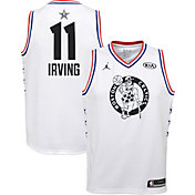 Jordan Youth 2019 NBA All-Star Game Kyrie Irving White Dri-FIT Swingman Jersey
