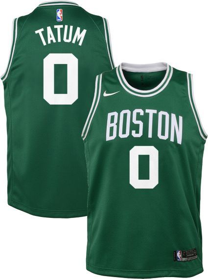 Nike Youth Boston Celtics Jayson Tatum  0 Kelly Green Dri-FIT Swingman  Jersey. noImageFound 74e4778b8