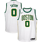 Nike Youth Boston Celtics Jayson Tatum Dri-FIT City Edition Swingman Jersey